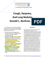 Cough, Dyspnea, and Lung Nodules