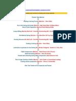 Tablet Process Flow Details