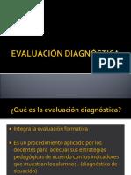 evaluación diagnóstica presentación