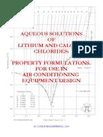 Aqueous LiCl CaCl2 Solution Props Unlocked