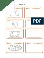 Vanda Meals Worksheet