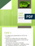 Case Discussion Snake Bite