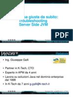 Troubleshooting JVM Javaday