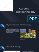 careers in biotech presentation
