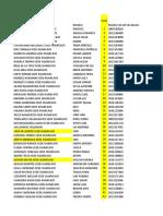 Lista - Albañileria 53