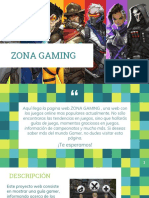 Texto Promocional – Zona Gaming