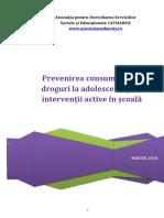 Prevenire Consum de Droguri in Scoala