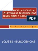 1 Aspectos Generales de Las Neurociencias