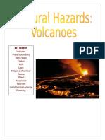Volcanoes Booklet Info 2