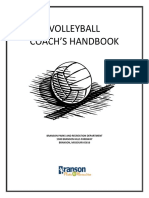 Volleyball Coach's Handbook
