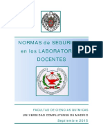 Normas Seguridad QuimicasUCM Sept2015