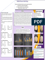 modified fetuccine alfredo research poster