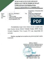 Surat Pengunduran Diri Penerima Bsps Kabupaten Pangandaran