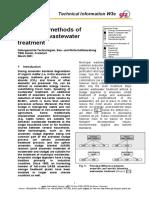Anaerobic Methods of Municipal Wastewater Treatment