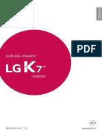 LG K7 UserGuide Spanish
