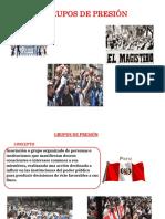 Grupos de Presión Diapos Ult.