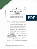 Decreto 1412-1986 Minas y Energia