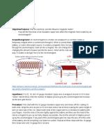 electromagnet experiment writeup