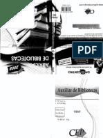 Test Auxiliar de Blibliotecas Ediciones Cep