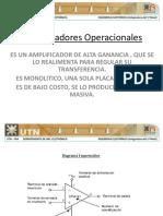 Unidad 6 - Amplificadores Operacionales