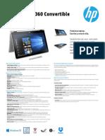 Brochure Laptop Pavilion x360