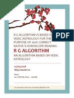R G Algorithm