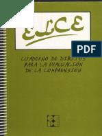 Cuadernillo de Respuestas Elocucion