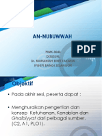 An- Nubuwwah 1
