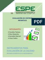 Calidad Instrumentos de Evaluacion