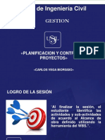 Planificacion y Control de Obra