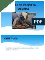 Fugas de Vapor en Tuberias Diapositivas