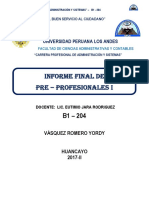 Informe de PP1 UPLA