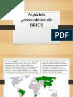 Aspectele Geoeconimice Ale BRICS