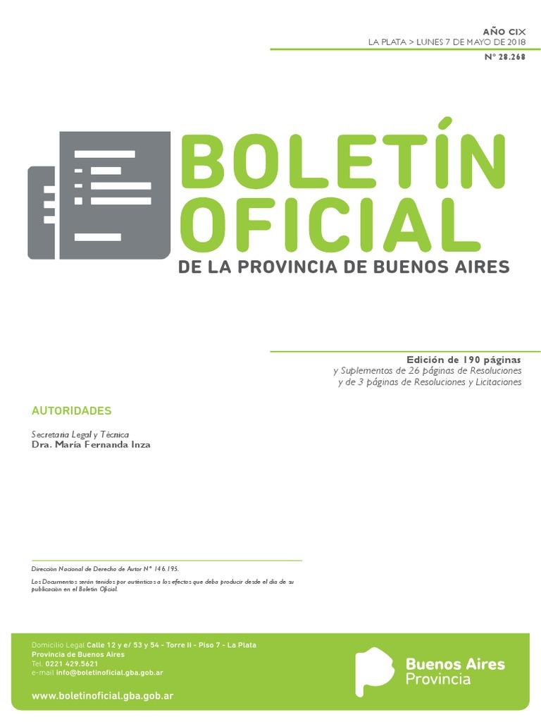 De La Provincia De Buenos Aires: Autoridades