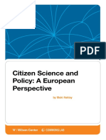 Citizen Science Policy European Perspective Haklay