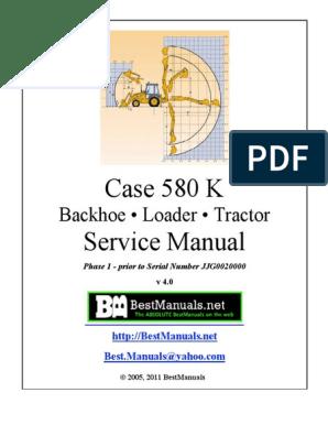 Case 580k Sm | Cylinder (Engine) | Piston