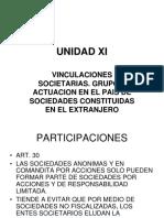 Unidad Xi Vinculacionse Societarias. Extranjeras Capua