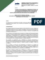 RGG 057-2010-OS-GG Certifiado de Competencia en Realizar Estudio de Riesgo