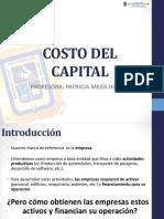 Finanzas Ii_sesión04 Costo Del Capital