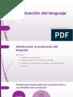 Evalucion Del Lenguaje
