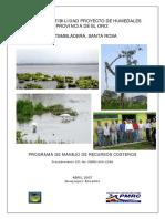 Estudio Factibilidad Proyecto de Humedales Provincia de El Oro La Tembladera, Santa Rosa.