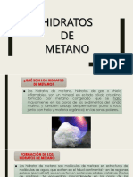 HIDRATOS DE METANO