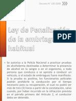 2-Ley de Penalización de La Embriaguez Habitual en Honduras