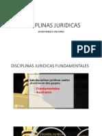 Disciplinas Juridicas Tema 2