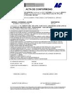 Acta de Conformidad - Modelo - Huascar II Techado Por Incendio--bernal