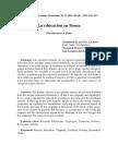 La Educación en La Roma Antigua 6