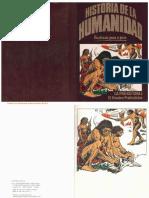 Historia de La Humanidad 01 La Prehistoria I El Hombre Prehistórico Daniel Mallo Ed 1980