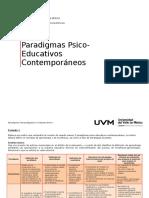 Paradigmas Psicoeducativas_educación Por Competencias