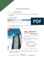 Manual Sicapnet 2013