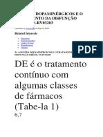 AGENTES DOPAMINÉRGICOS E O TRATAMENTO DA DISFUNÇÃO ERÉTIL.docx